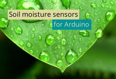 Guide: Soil moisture sensors for arduino